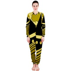 Boat - yellow OnePiece Jumpsuit (Ladies)