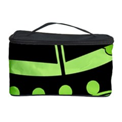 Boat - green Cosmetic Storage Case