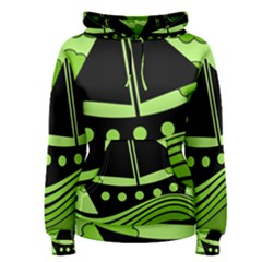 Boat - green Women s Pullover Hoodie