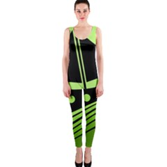 Boat - green OnePiece Catsuit