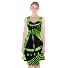 Boat - green Racerback Midi Dress