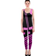 Boat - magenta OnePiece Catsuit
