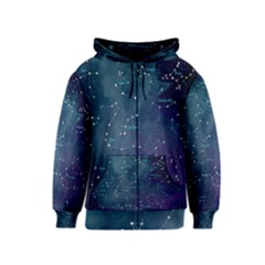 Constellations Kids  Zipper Hoodie