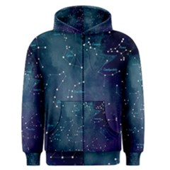 Constellations Men s Zipper Hoodie