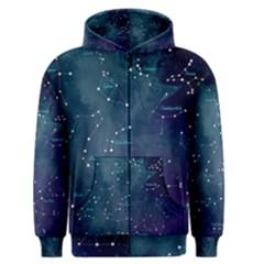 Constellations Men s Zipper Hoodie