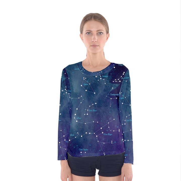 Constellations Women s Long Sleeve Tee