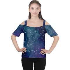 Constellations Women s Cutout Shoulder Tee