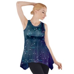 Constellations Side Drop Tank Tunic