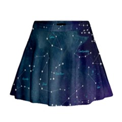 Constellations Mini Flare Skirt