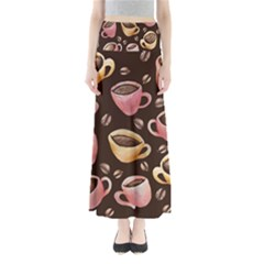 Coffee House Barista  Maxi Skirts