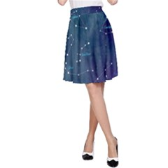 Constellations A-Line Skirt