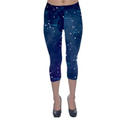 Constellations Capri Winter Leggings