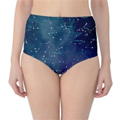 Constellations High Waist Bikini Bottoms