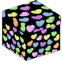 Valentine s Hearts Storage Stool 12