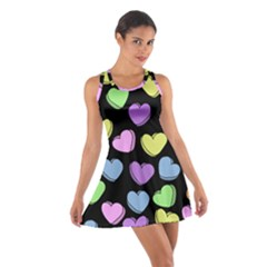 Valentine s Hearts Cotton Racerback Dress