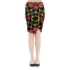 Angel Life Win Midi Wrap Pencil Skirt