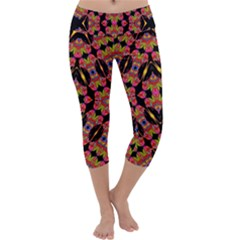 TWO HEART Capri Yoga Leggings