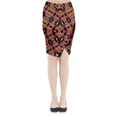 TWO HEART Midi Wrap Pencil Skirt