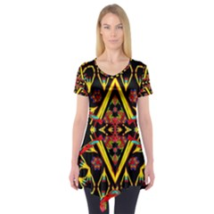 Time Space Short Sleeve Tunic