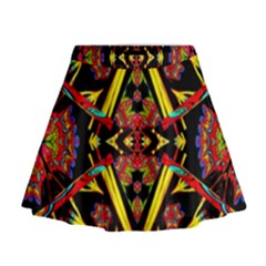 Time Space Mini Flare Skirt