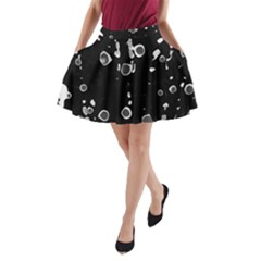 Old love A-Line Pocket Skirt