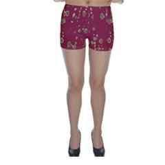 Elegant art Skinny Shorts