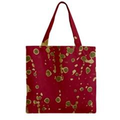 Elegant art Zipper Grocery Tote Bag
