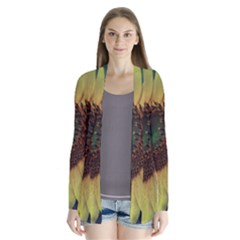 Sunflower Photography  Drape Collar Cardigan