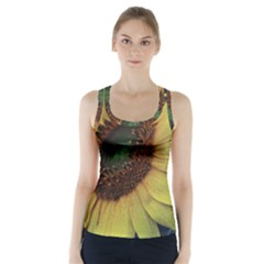 Sunflower Photography  Racer Back Sports Top