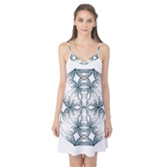 Mandala Blue And White Camis Nightgown