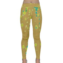 Digital art Yoga Leggings
