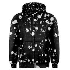 Black dream  Men s Zipper Hoodie