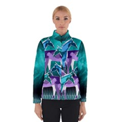 Horses Under A Galaxy Winter Jacket