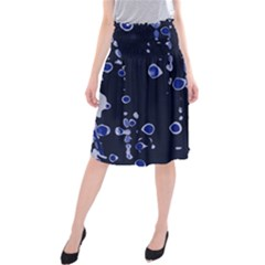 Blue dream Midi Beach Skirt