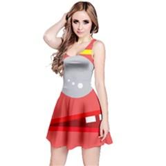 Cute face Reversible Sleeveless Dress