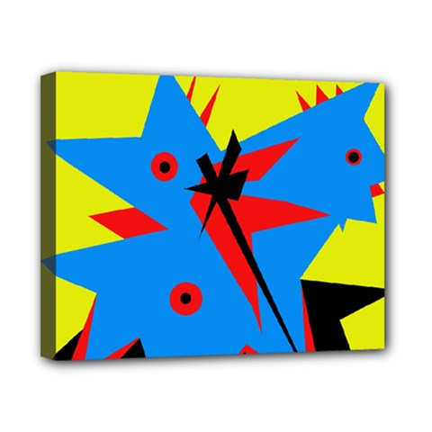Clock Canvas 10  x 8