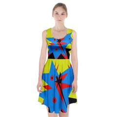 Clock Racerback Midi Dress