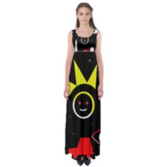 Stay cool Empire Waist Maxi Dress