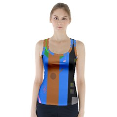 Growing  Racer Back Sports Top