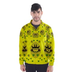 Wizard Mice In Fairy Dust Popart Wind Breaker (men)