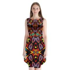 Heads Up Talk Sleeveless Chiffon Dress