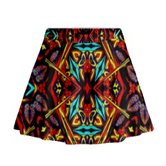 I Am One Mini Flare Skirt