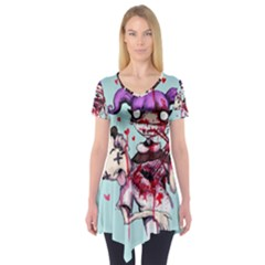 Second Date  Short Sleeve Tunic