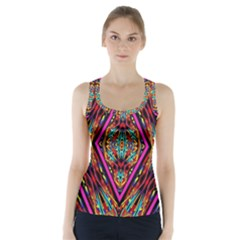 PICK A NUMBER Racer Back Sports Top