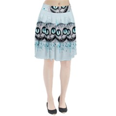 Cheshire Watercolor  Pleated Skirt