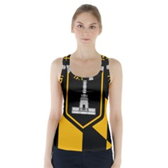 Flag Of Baltimore  Racer Back Sports Top