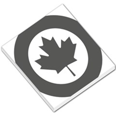 Low Visibility Roundel Of The Royal Canadian Air Force Small Memo Pads