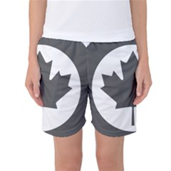 Low Visibility Roundel Of The Royal Canadian Air Force Women s Basketball Shorts