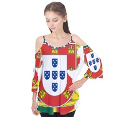 Flag Map Of Portugal Flutter Tees