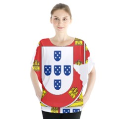 Flag Map Of Portugal Blouse